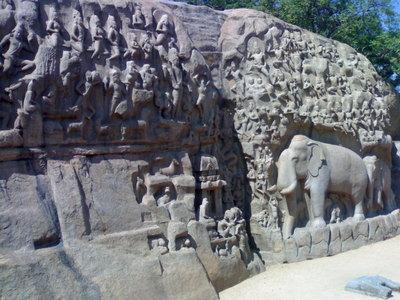sculture a mamallapuram